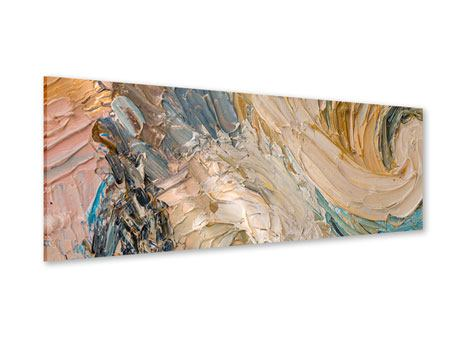 Panoramic Acrylic Print Oil Painting