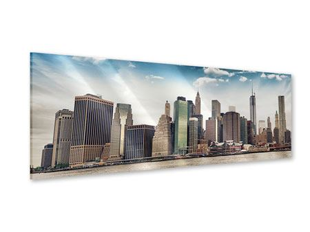 Panoramic Acrylic Print NYC From The Other Side