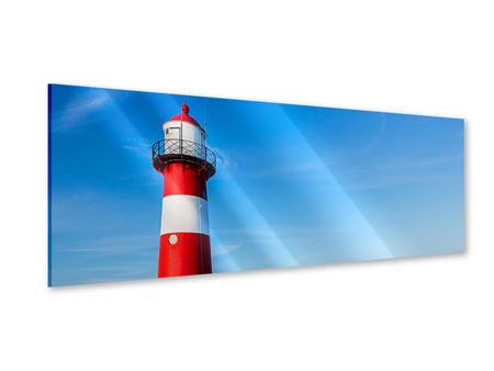 Panoramic Acrylic Print Summer At The Lighthouse