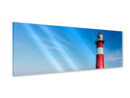 Panoramic Acrylic Print The Lighthouse