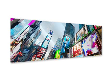 Panoramic Acrylic Print Shopping In NYC