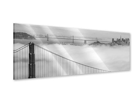 Panoramic Acrylic Print Golden Gate Bridge