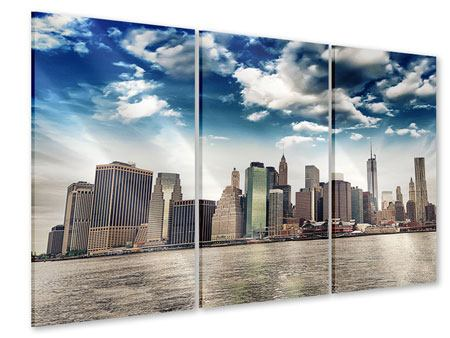 3 Piece Acrylic Print NYC From The Other Side