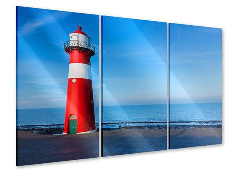 3 Piece Acrylic Print Summer At The Lighthouse