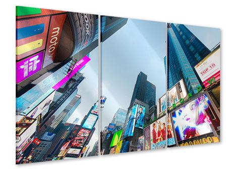 3 Piece Acrylic Print Shopping In NYC