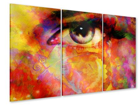 3 Piece Acrylic Print The Eye