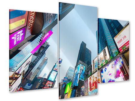 Modern 3 Piece Acrylic Print Shopping In NYC