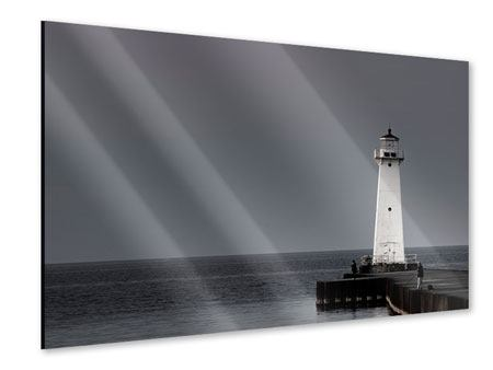 Acrylic Print The Lighthouse At Night