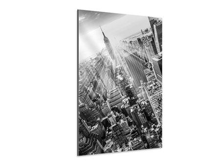 Tableau Aluminium Gratte-ciels de New York