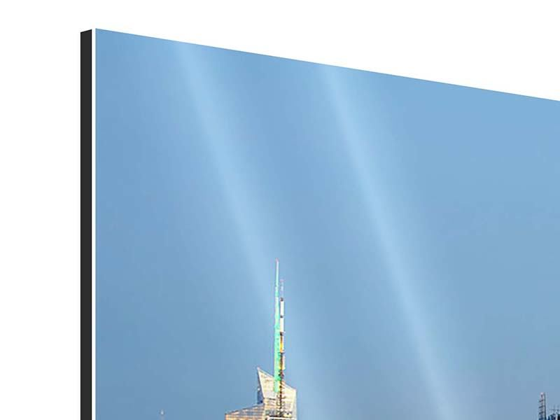 Aluminium Print Skyline Midtown Manhattan