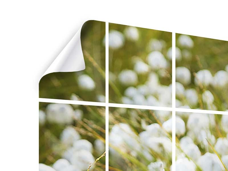 Tile Print The Meadow Of Cotton
