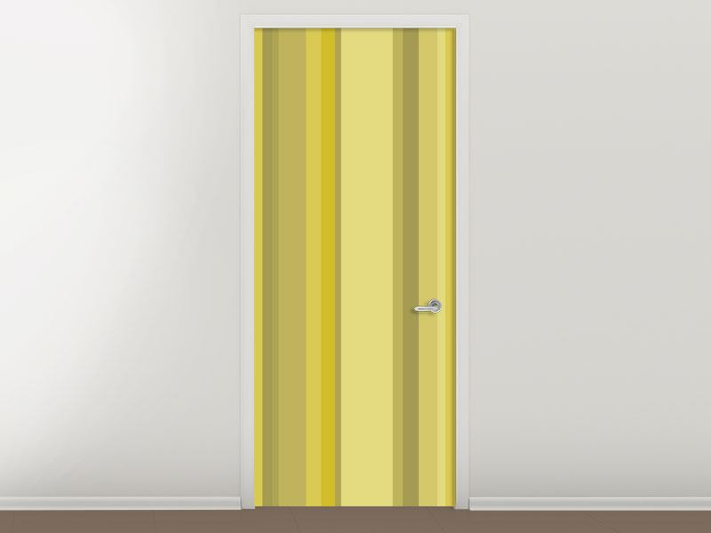 Door Mural Stripes