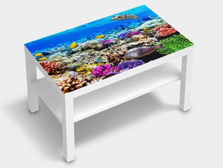 Furniture Foil Fish Aquarium