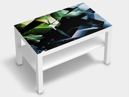 Furniture Foil 3D Polygon