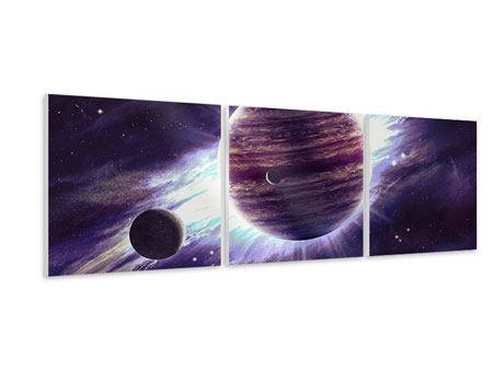 Tableau Forex en 3 parties Panoramique Astronomes