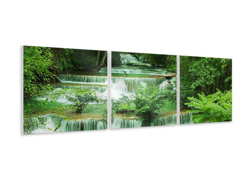 Panoramic 3 Piece Forex Print 7 Levels In Thailand