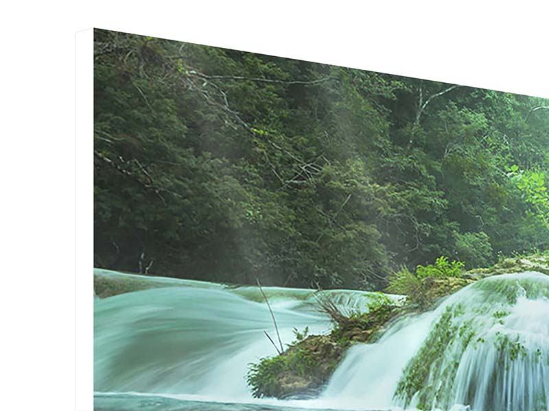 Modern 3 Piece Forex Print Giant Waterfall