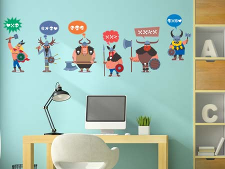 Wall Sticker The Vikings