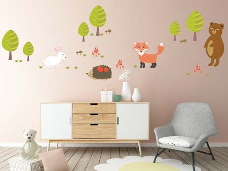 Wall Sticker In the forest