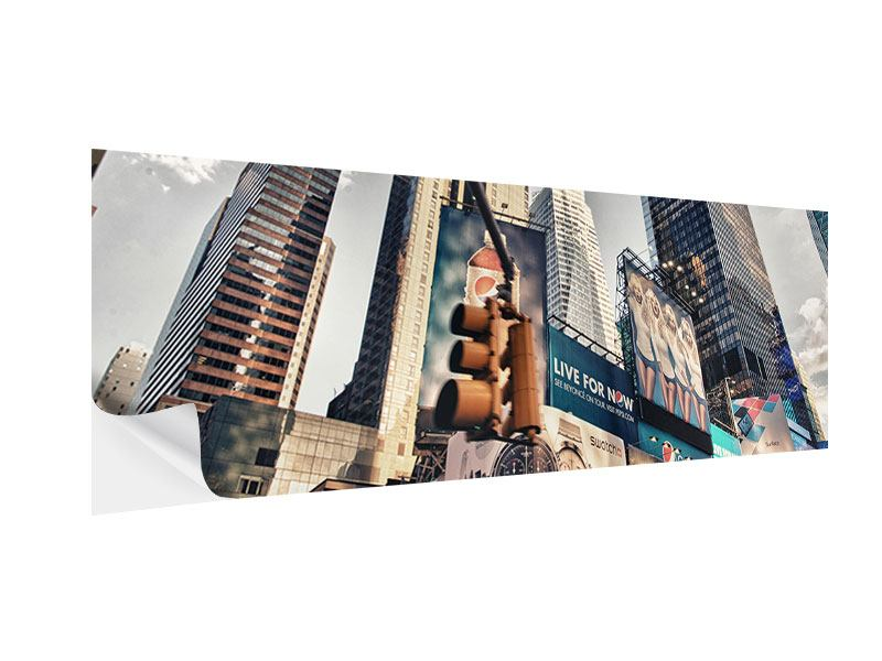 Posters adhesif Panoramique Times Square