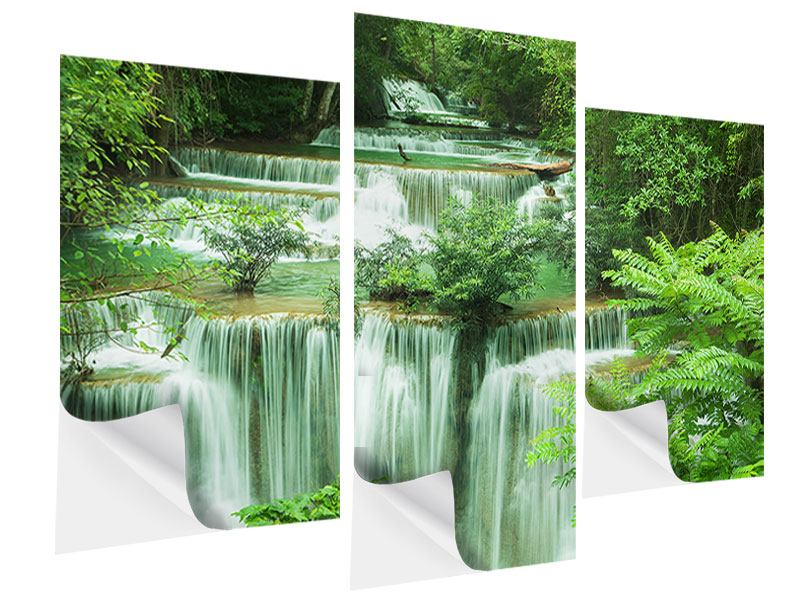 Modern 3 Piece Self-Adhesive Poster 7 Levels In Thailand