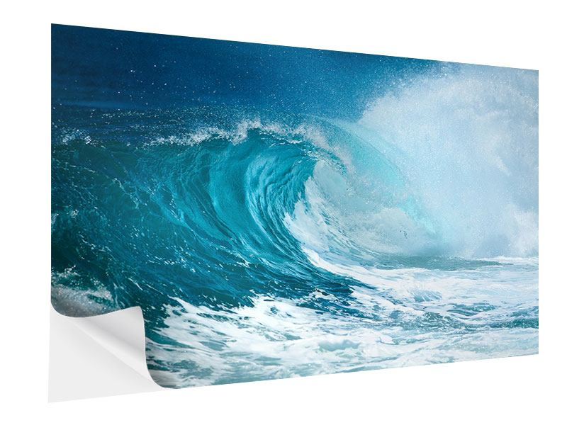 Self-Adhesive Poster The Perfect Wave