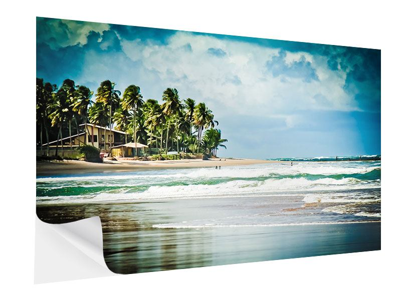 Self-Adhesive Poster The Beach