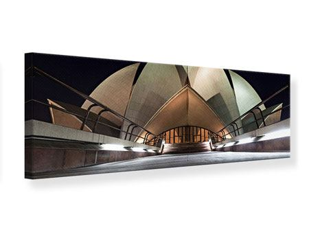 Panoramic Canvas Print The Lotus Temple