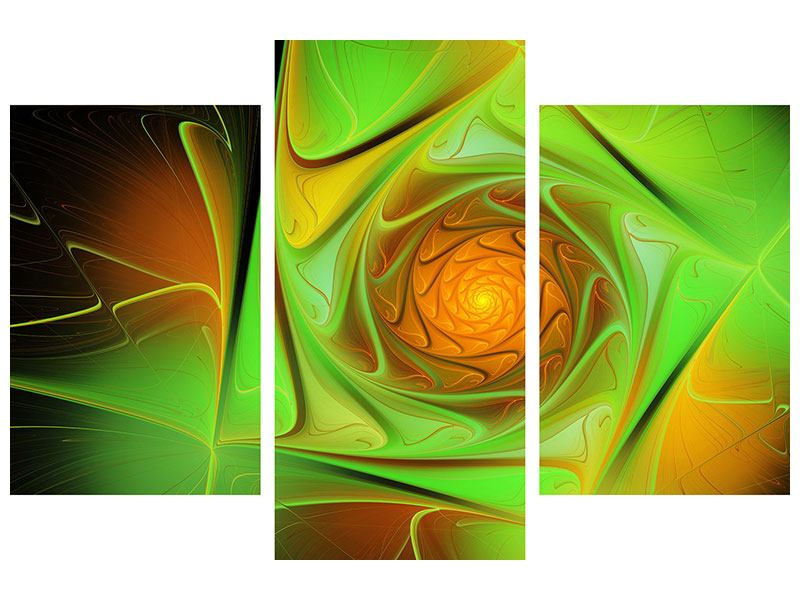 Modern 3 Piece Canvas Print Abstractions