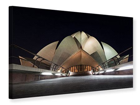 Canvas Print The Lotus Temple