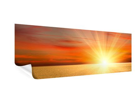 Panoramic Poster The Sunset