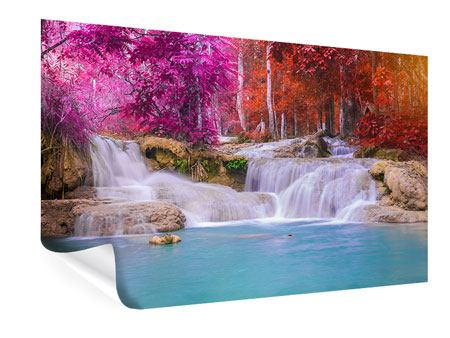 Poster Cascate paradisiache