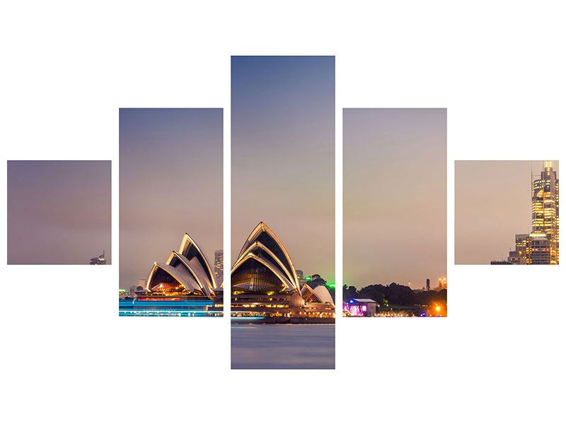 5 Piece Poster Opera House