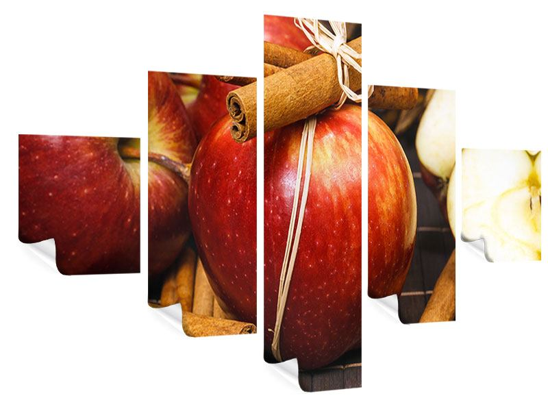 5 Piece Poster Apples