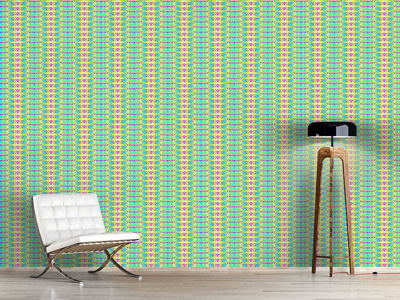 Design Wallpaper Pixel Stripe