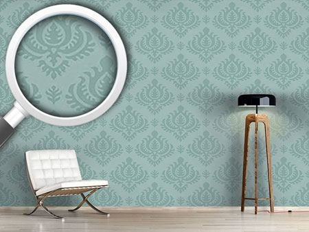 Design Wallpaper Aqua Baroque