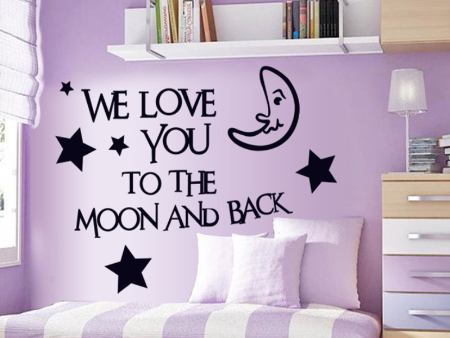 Wall Sticker We Love You
