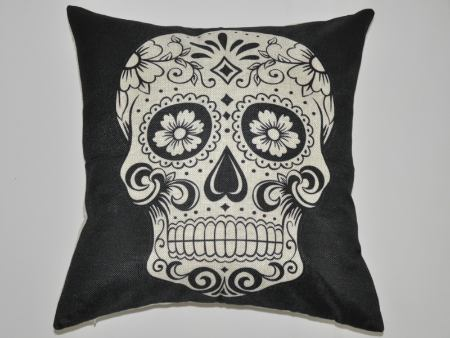 Cushion Cover Skull